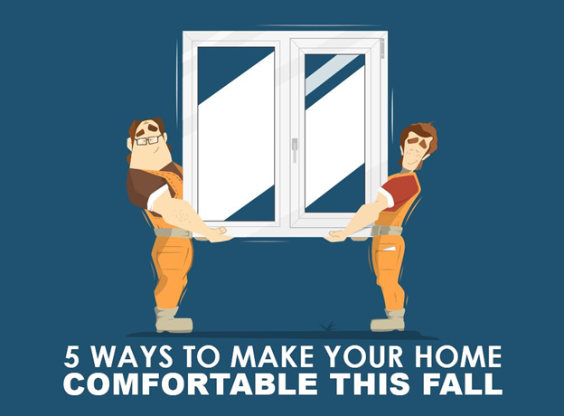 Installing home siding replacement can help make your home more cozy this fall.
