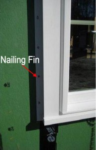 Window Nail Fin new construction