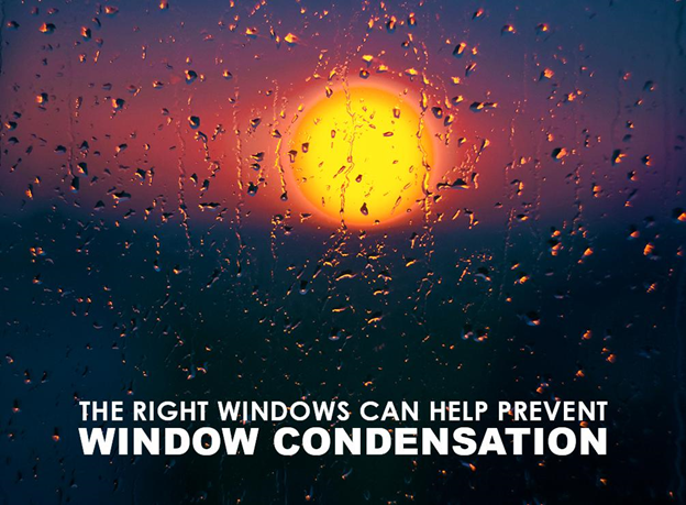 Installing replacement windows can help prevent and cure window condensation.