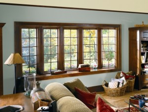 Wood Interior Bay Window