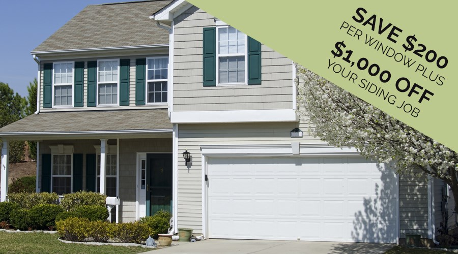 Beautify Your Home With New Windows and Siding!