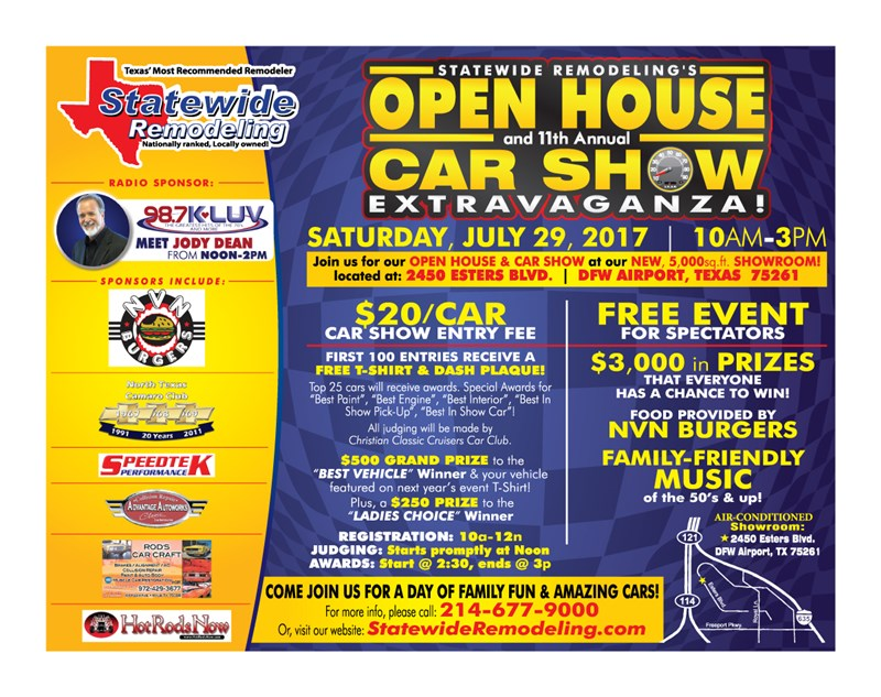 11th Annual Statewide Remodeling Car Show