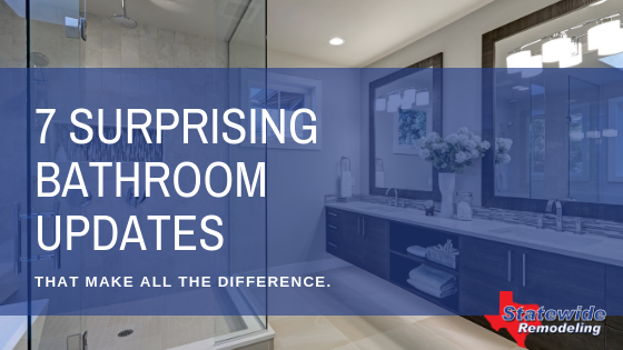 7 Surprising Bathroom Updates That Will Make All The Difference!