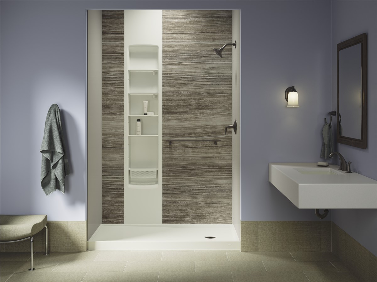 Kohler Walk In Shower Kohler Luxstone Showers Statewide