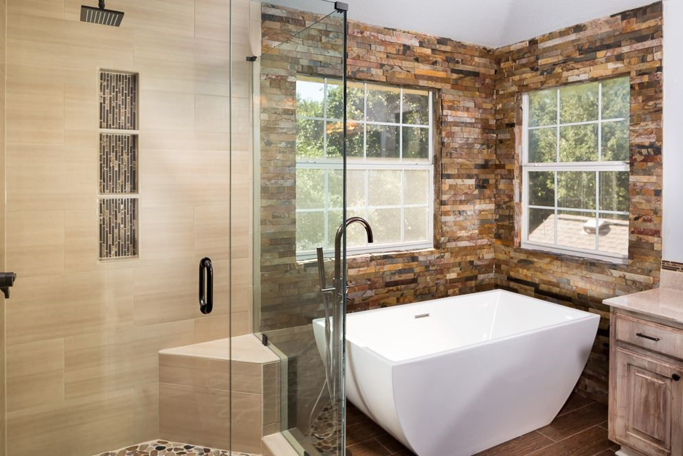 Bathroom remodeling texas bathroom remodeler statewide for Bathroom renovation images