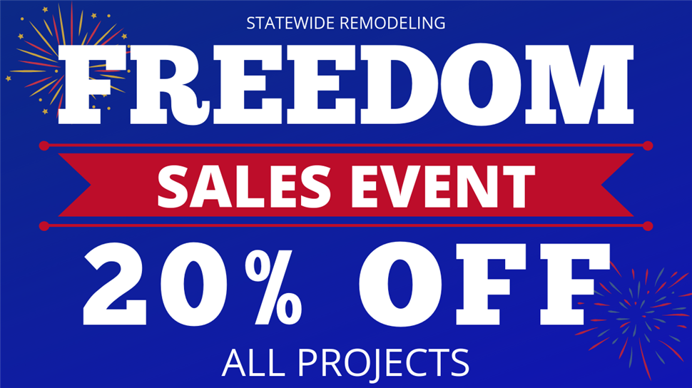 20 Percent Off All Projects