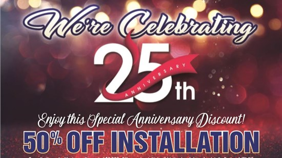 50% Off All Installations
