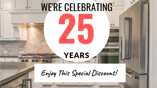 25 Percent Off All Projects