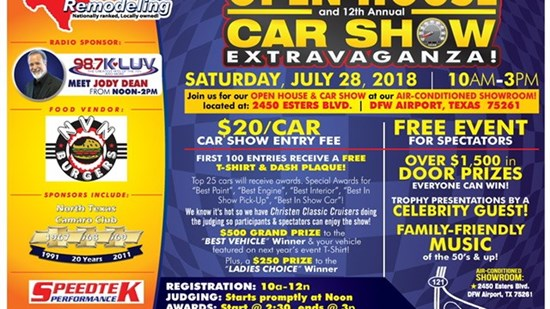 2018 Statewide Remodeling Car Show