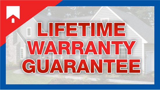 LIFETIME WARRANTY GUARANTEE - ON ALL PRODUCTS