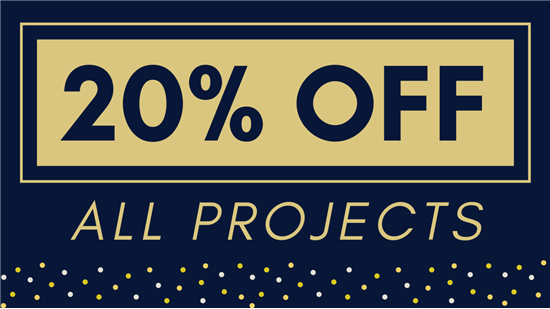 Percent Off All Projects
