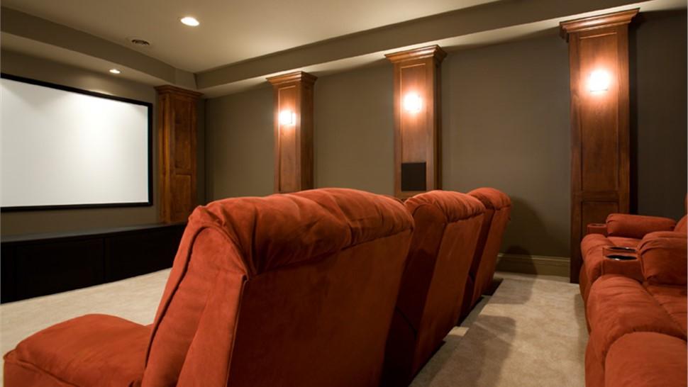 Basements - Basement Home Theater Photo 1