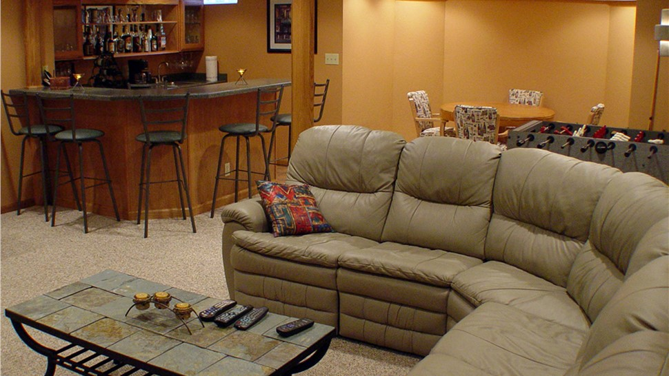 Basements - Basement Family Room Photo 1