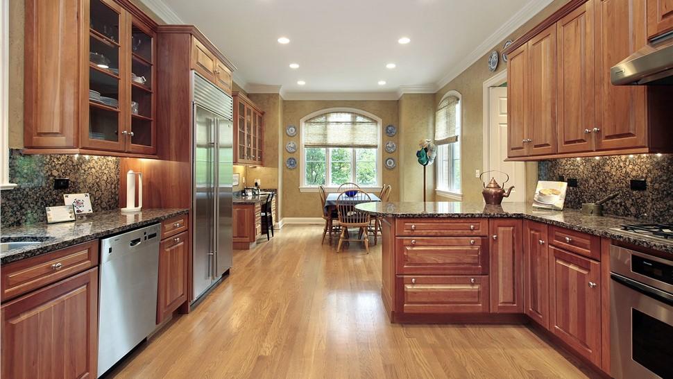 Kitchen Remodeling - Large Kitchen Photo 1