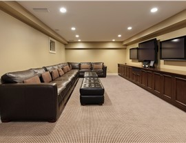 Basements - Basement Family Room Photo 4