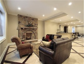 Basements - Basement Family Room Photo 2
