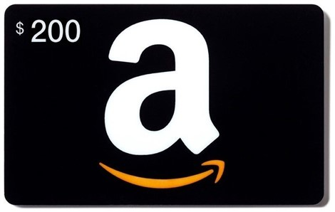 Get A $200 Amazon Gift Card