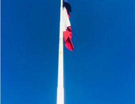 Flag Pole Repair Photo 3
