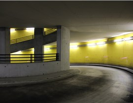 Parking Garage Lights Photo 4