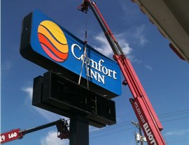 Sign Installation Photo 2