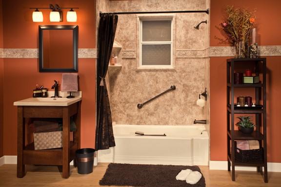 One Day Bathroom Remodel Peoria Bathroom Remodeling The Bath