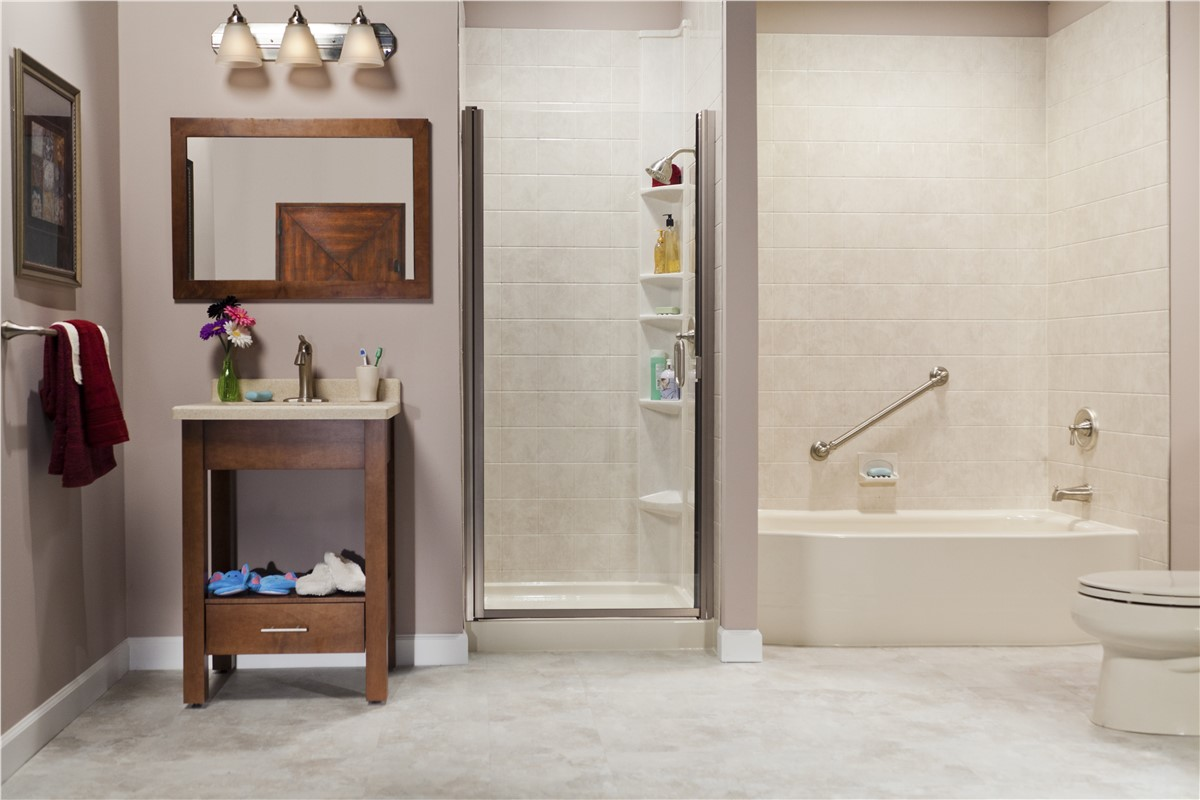 Bathroom Remodeling Peoria Il shower remodel | peoria bathroom remodeling | the bath company
