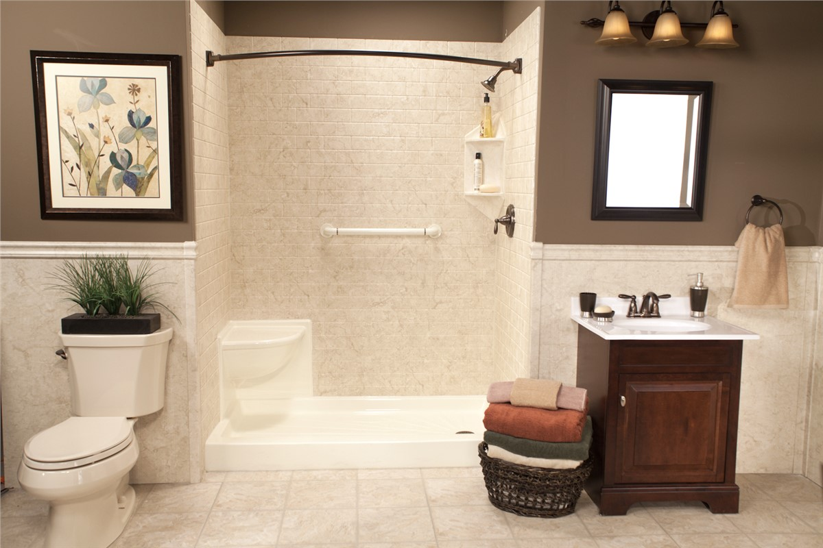 Learn about one day bathroom remodeling from the bath company for Bath remodel one day