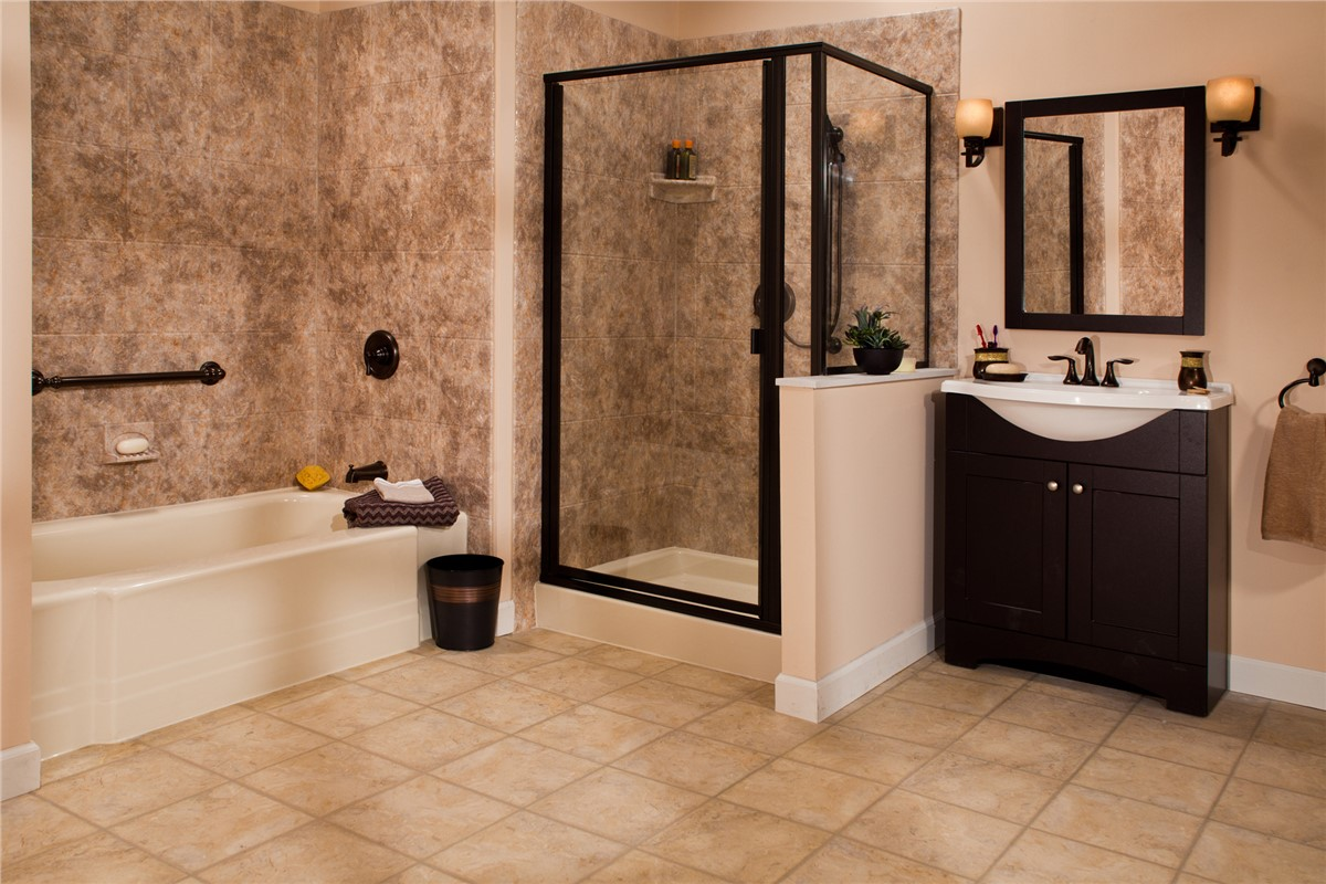Learn about one day master bathroom remodeling from the for Bath remodel one day
