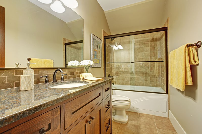 Bathroom Upgrade thiel's home solutions - cabinets, tubs, showers, windows, doors
