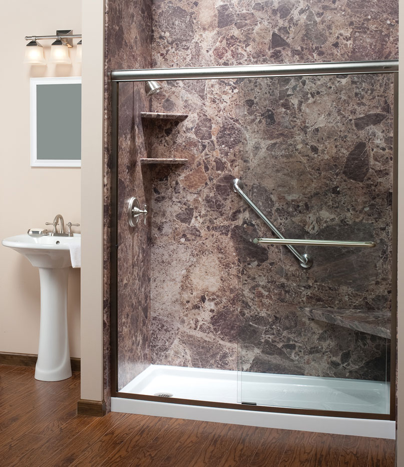 Shower Surrounds Chicago | Shower Walls | One Day Bath