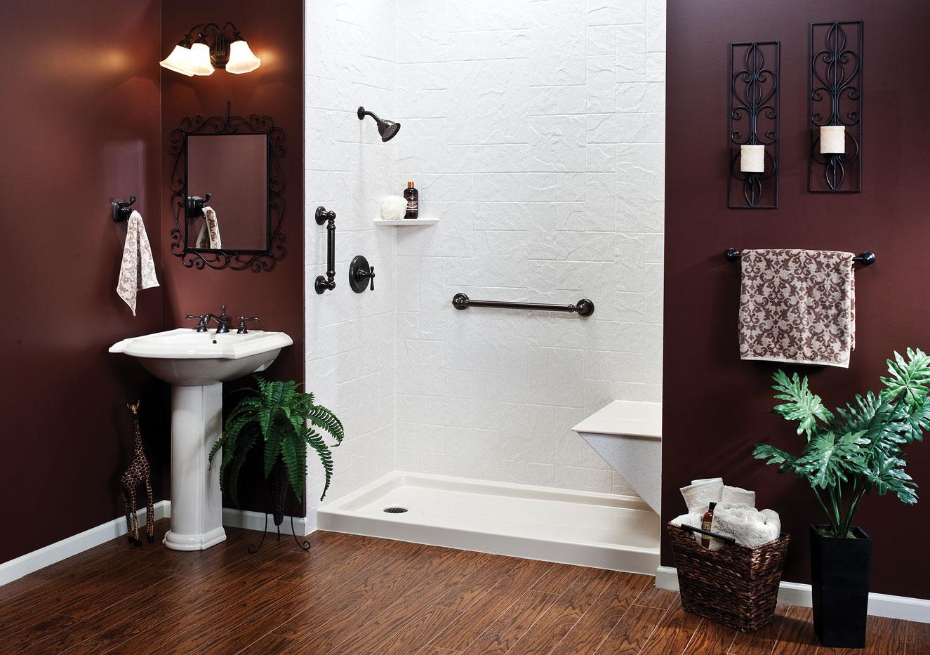 San antonio bathroom remodel - Shower Renovation
