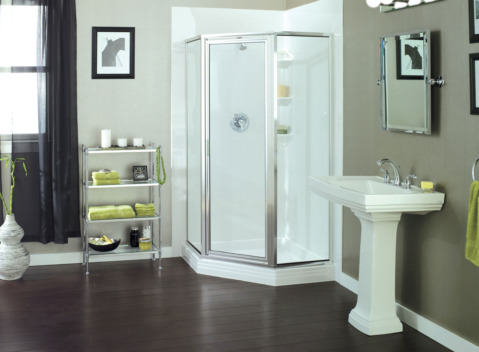 Shower Enclosures Chicago | Shower Doors | Tiger Bath Solutions