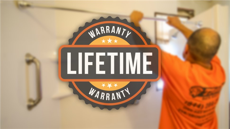 Remodel with Confidence, Backed by Lifetime Warranty!