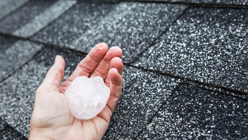 Insurance Claims - Hail Damage Photo 1
