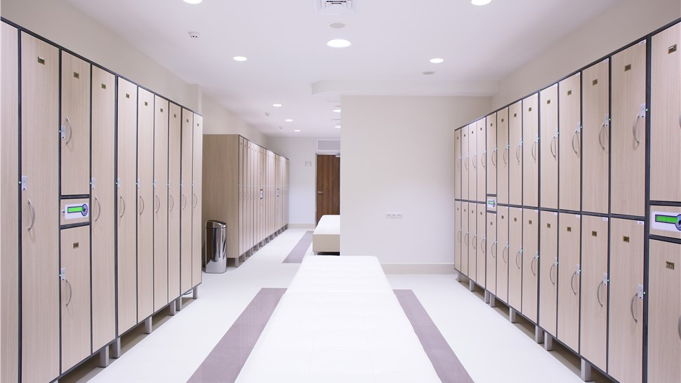 Commercial Floor Coatings - Locker Rooms Photo 1