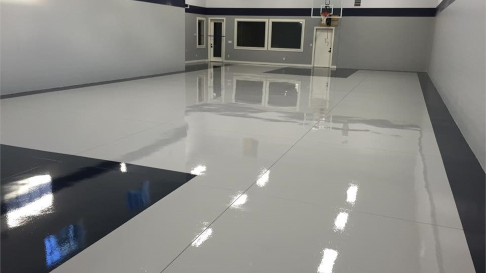 One Day Concrete Floor Coatings Solid Color Polyurea