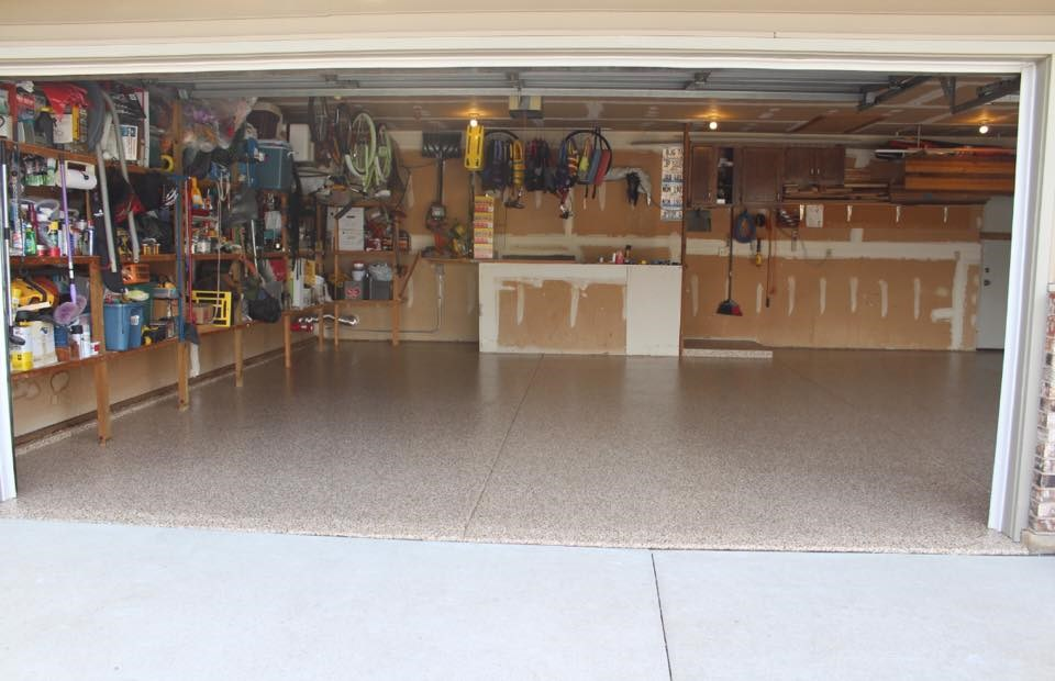 One day garage floor coating installation for freeport for First choice garage