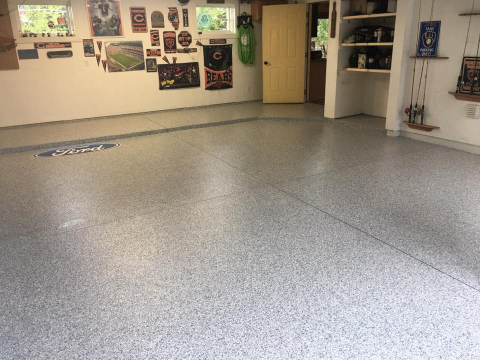 Garage Floor Coatings For Chicago Area Homes Tsr