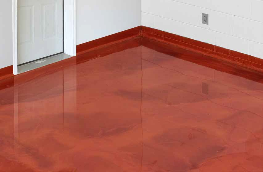 Chicago Basement Floor Epoxy Coating