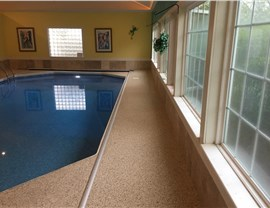 Residential Floor Coatings - Pool Decks Photo 4