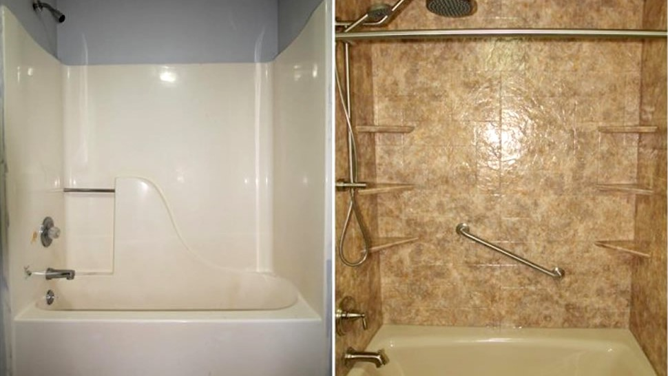 Repairing vs replacing your bathtub green bay bathroom for Bath remodel green bay