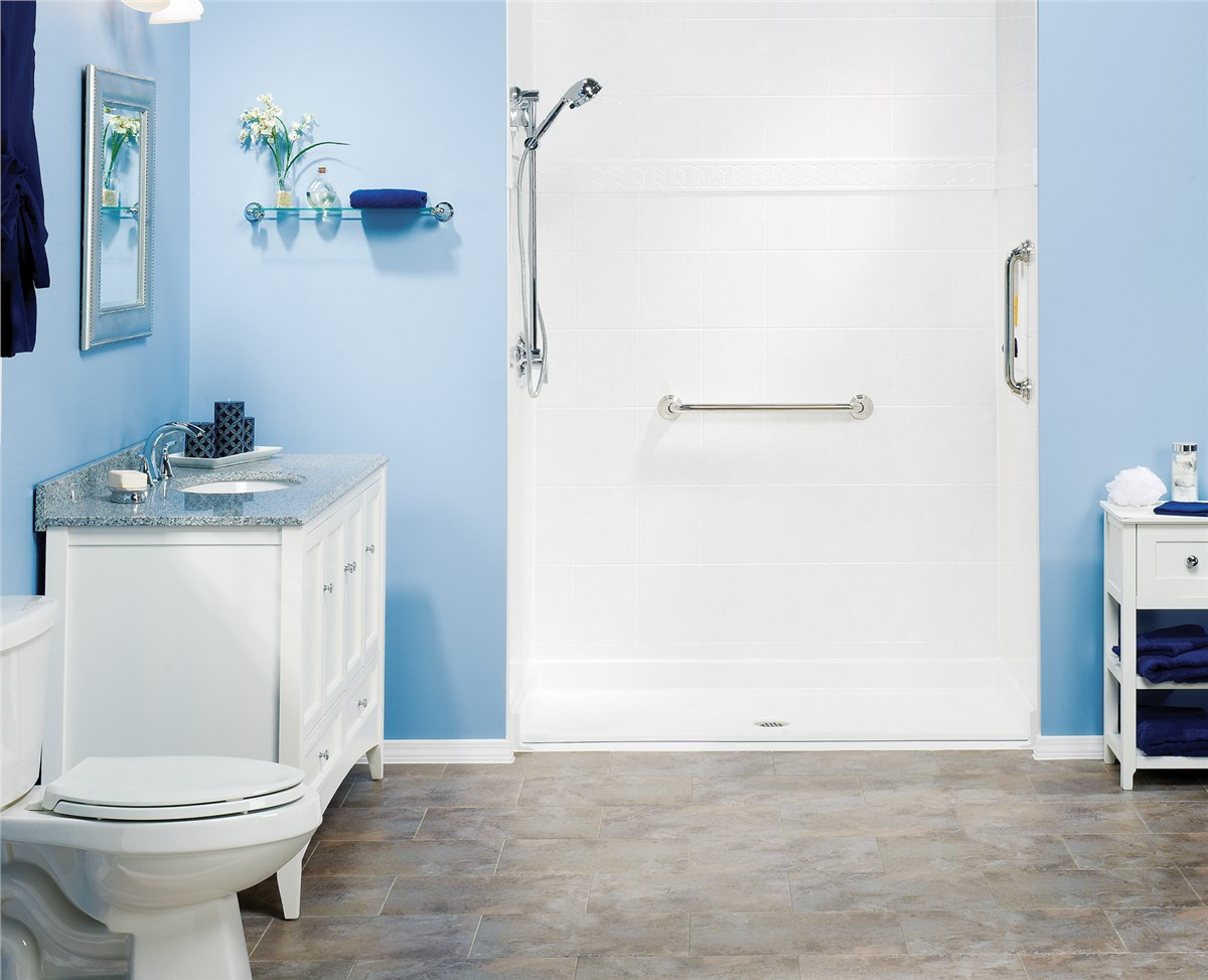 Wausau Walk-in Shower | Bathroom Remodeling Company Wausau | Tundraland