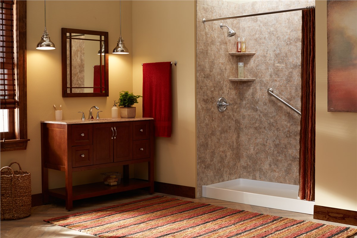 Tub To Shower Conversion Gallery Photo 1