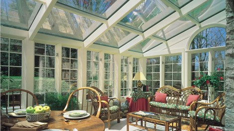 Straight Eave Glass Designs Photo 3