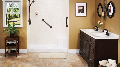 Tub to Shower Conversion Gallery Photo 4