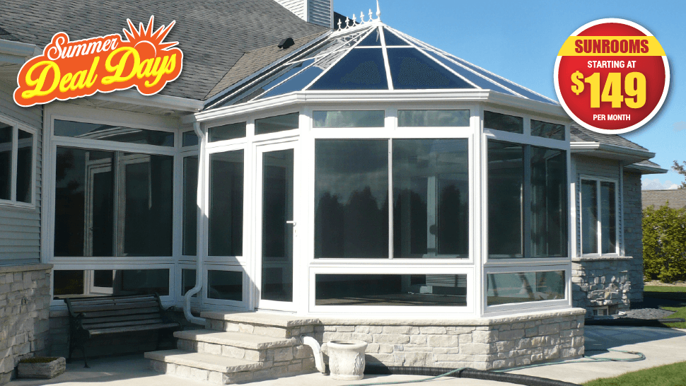 Get $1,500 Cash Back With Your New Sunroom!