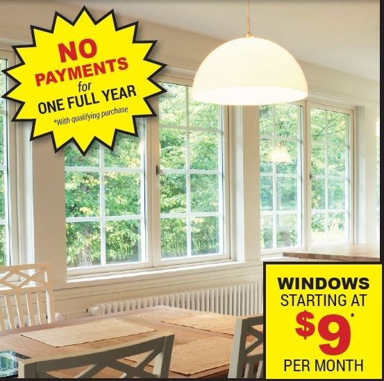 Save $150 on Each Replacement Window