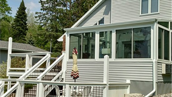 Receive $500 of your sunroom or deck project and no payments for 1 full year.