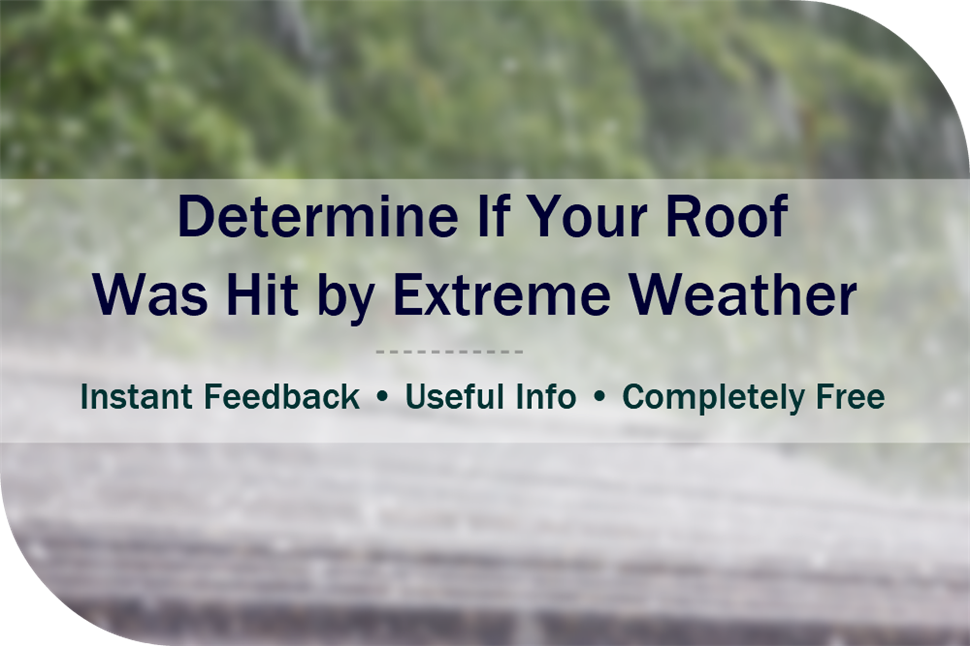 Get Instant Input on Condition of Your Roof