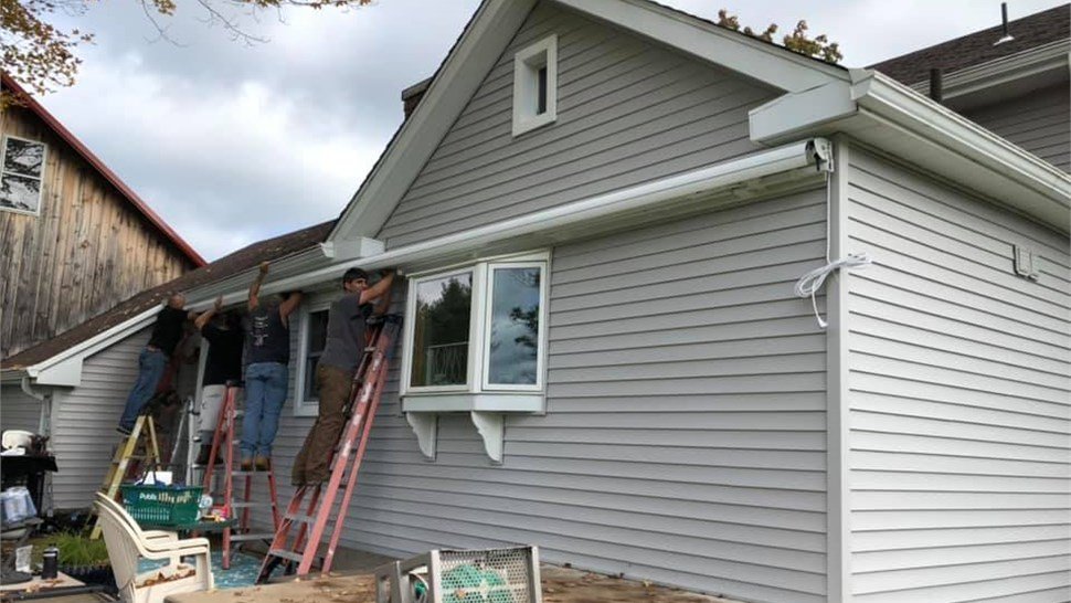 Gutter Protection ---------- Siding Photo 1